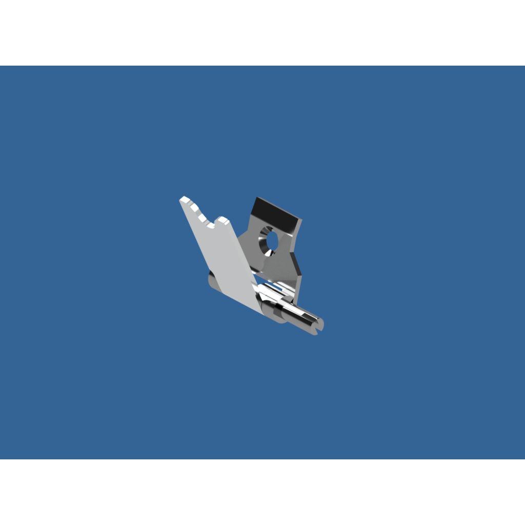 Прижим для клипсатора КК, КДФ лев/права 111-114/115-000 старая модель с прж