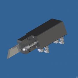 Блок ножа и отбойника батона для клипсатора КД