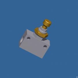 Дроссель пневматический RFU 482-1/8