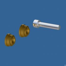 Втулка ручки для клипсатора КО (комплект 2шт.бронза )